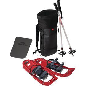 MSR Snowshoes and Poles Kit - Raquetas de nieve de aluminio - rojo